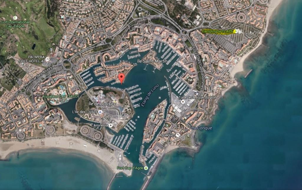 a google Cap d' Agde