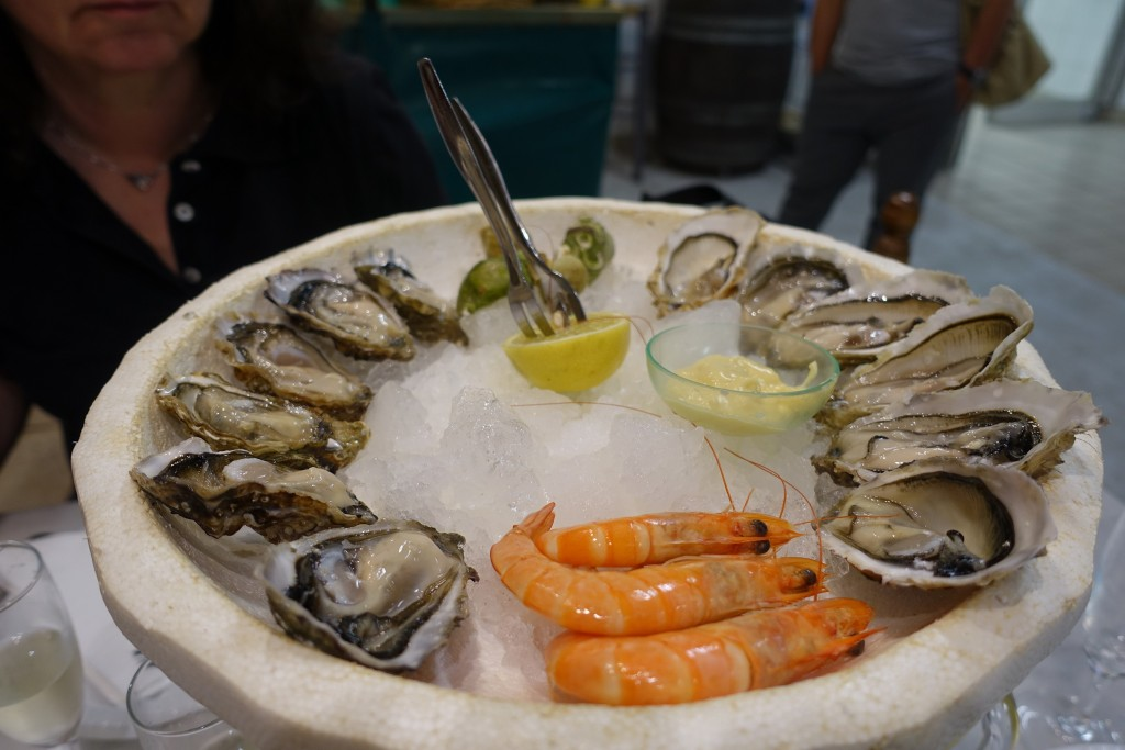 Markt Les Halles - Meeresfrüchte zum Dahinschmelzen