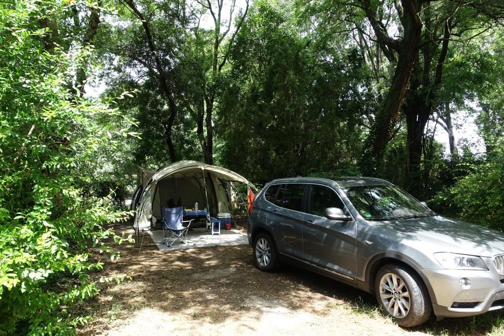 Schönes Wetter am Camping Le Pont d' Avignon