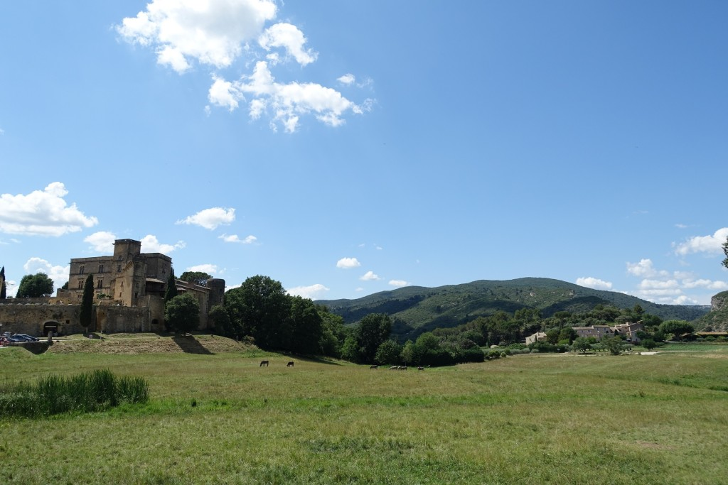 Lourmarin - das Schloss