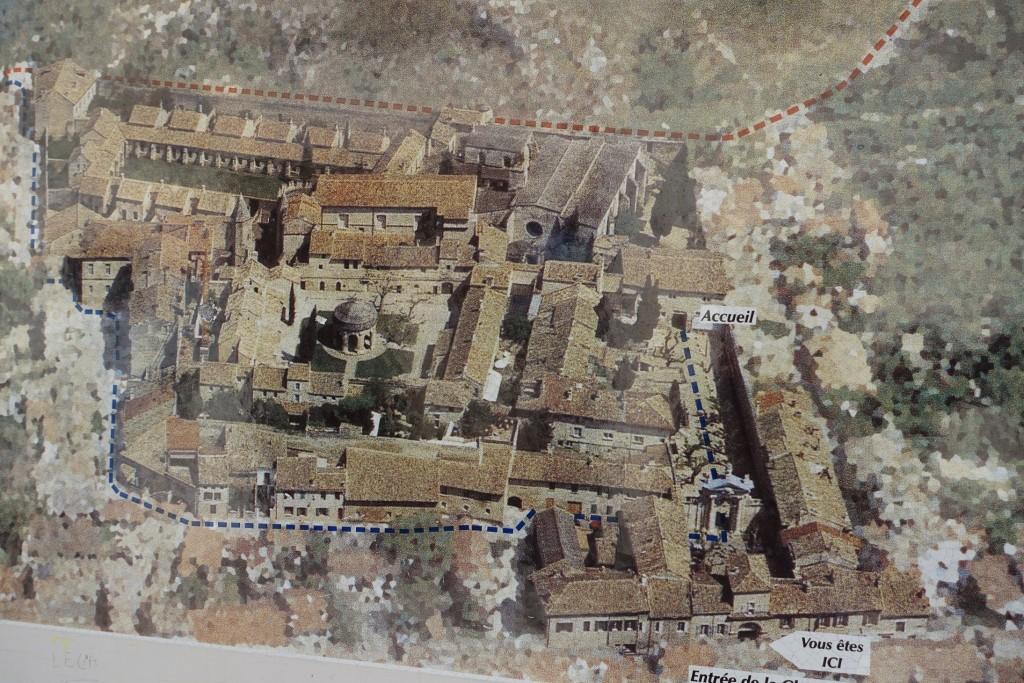 Chartreuse Val de Bénédiction - Luftbildaufnahme