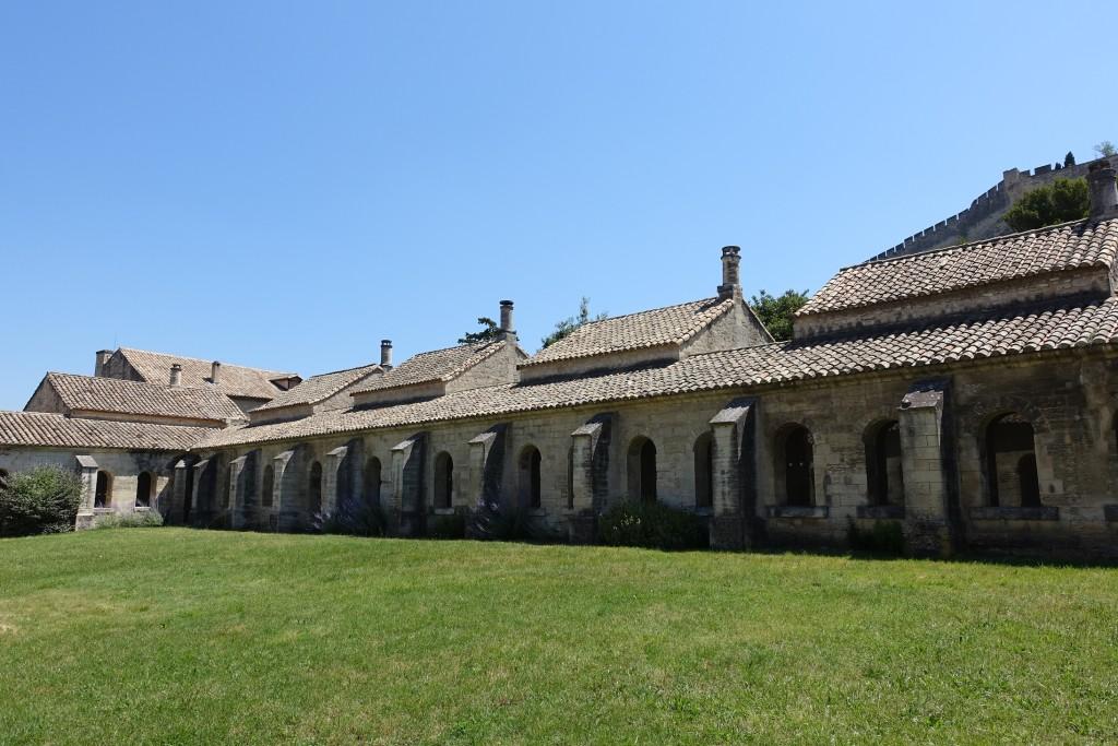 Chartreuse Val de Bénédiction - der große Klosterhof