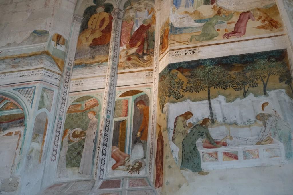 Chartreuse Val de Bénédiction - Freskenkapelle