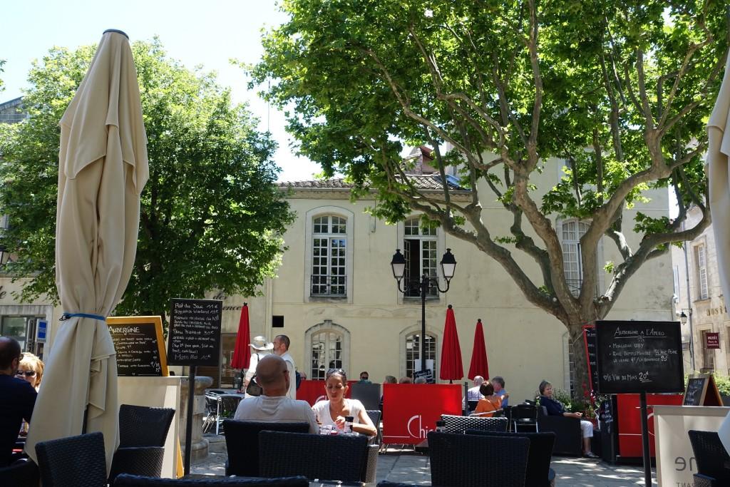 "Blick vom Restaurant ""Aubergine"""