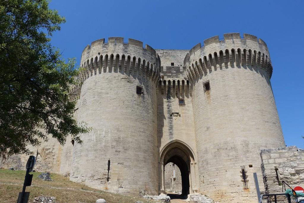 Fort Saint André - Eingang