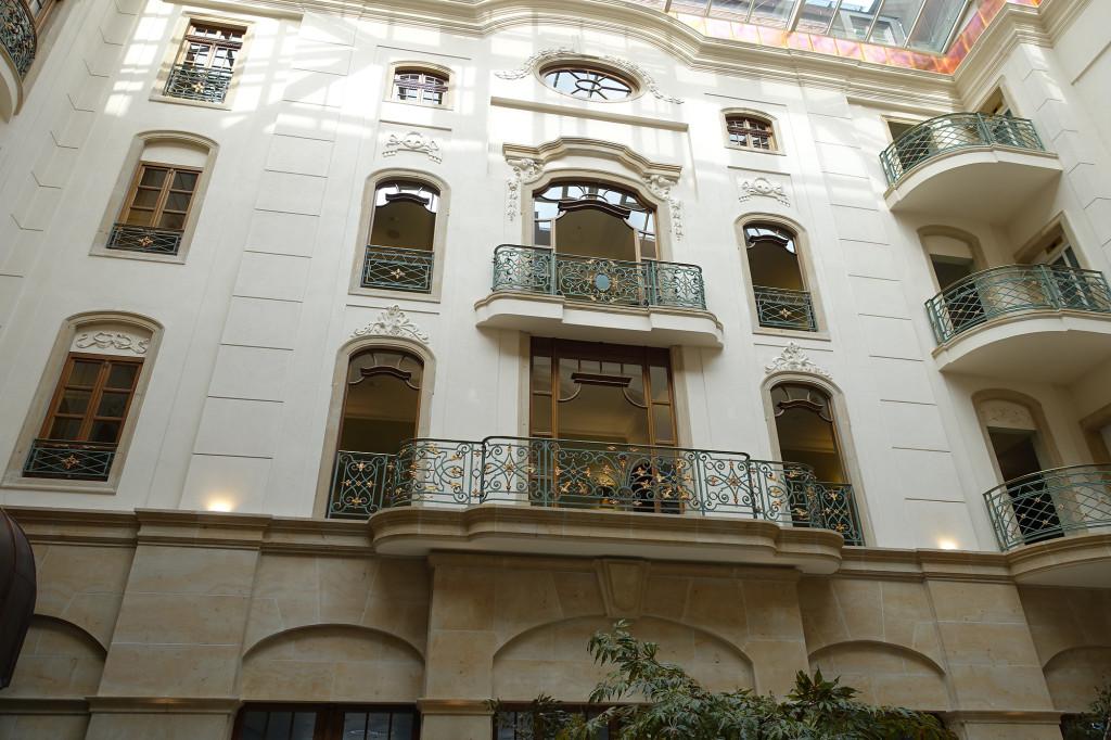 Dresden - Innenhof des Hotels Gewandhaus