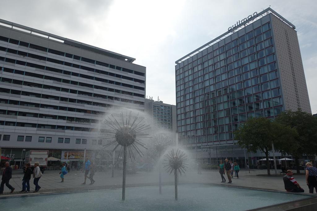 Dresden - Fußgängerzone Prager Straße