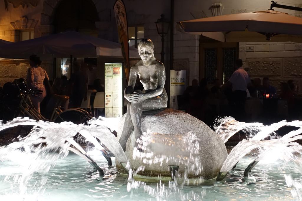 """Riva del Garda - die kleine """"See""""-Jungfrau"""
