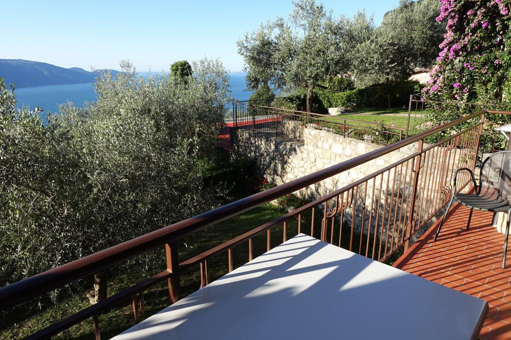 Blick vom Balkon unserer Ferienwohnung