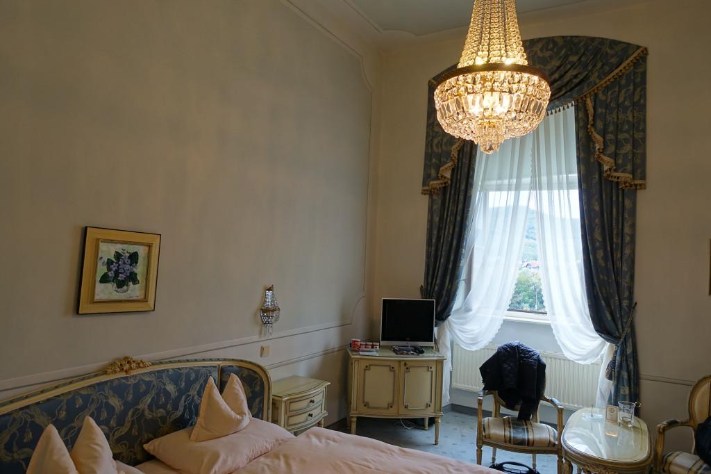 Schloss Dürnstein - unser Zimmer