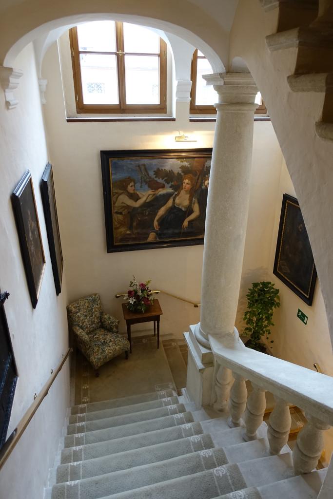 Hotel Schloss Dürnstein - Treppenhaus