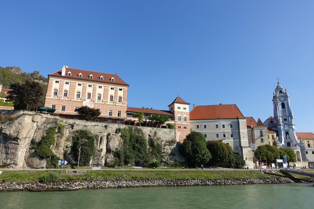 Dürnstein - Hotel Schloss Dürnstein und Augustiner Chorherrenstift
