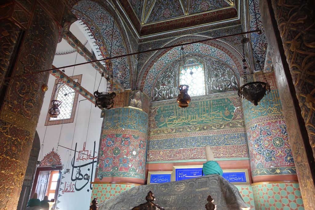 Konya - Mevlana-Kloster - Das Grabmal von Celaleddin Rumi