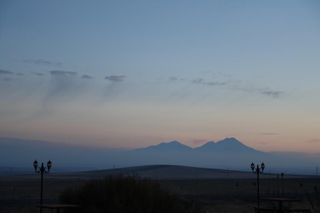 Der Vulkan Hassan