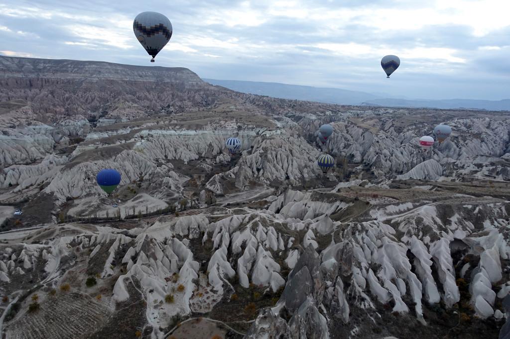 DSC06911 Türkei Nov. 15 - Kappadokien - Ballonfahrt