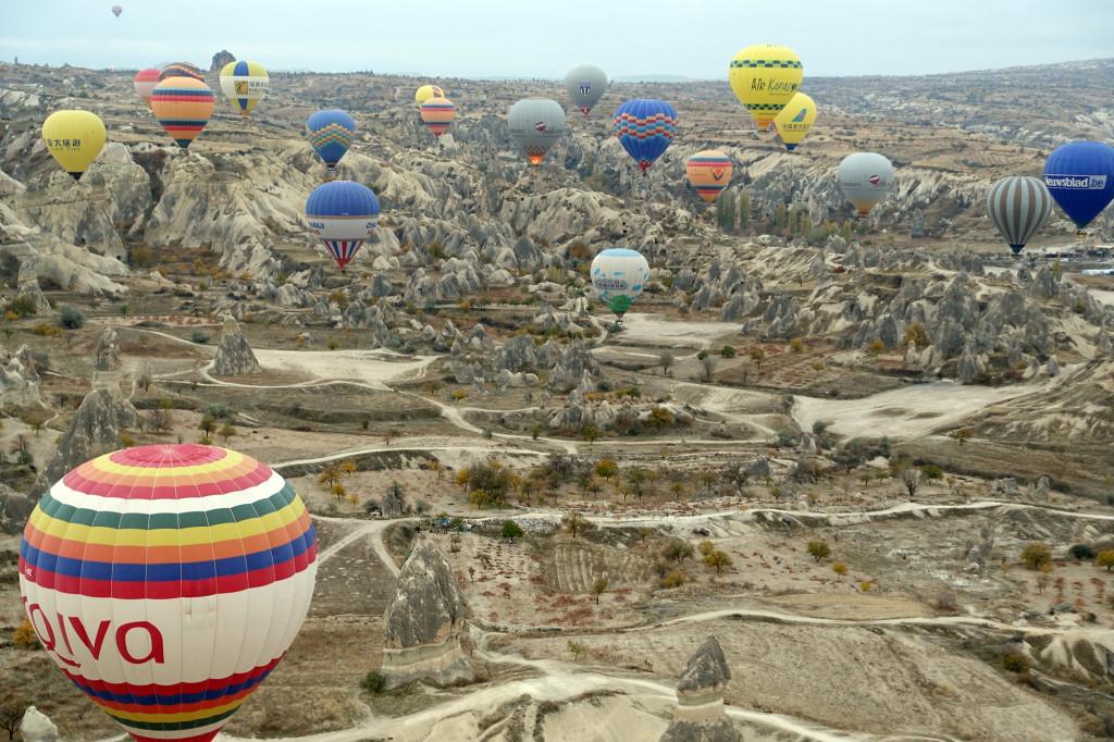 DSC06914 Türkei Nov. 15 - Kappadokien - Ballonfahrt