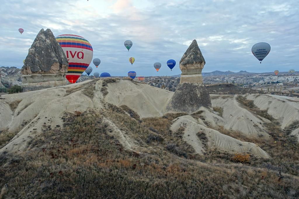 DSC06921 Türkei Nov. 15 - Kappadokien - Ballonfahrt