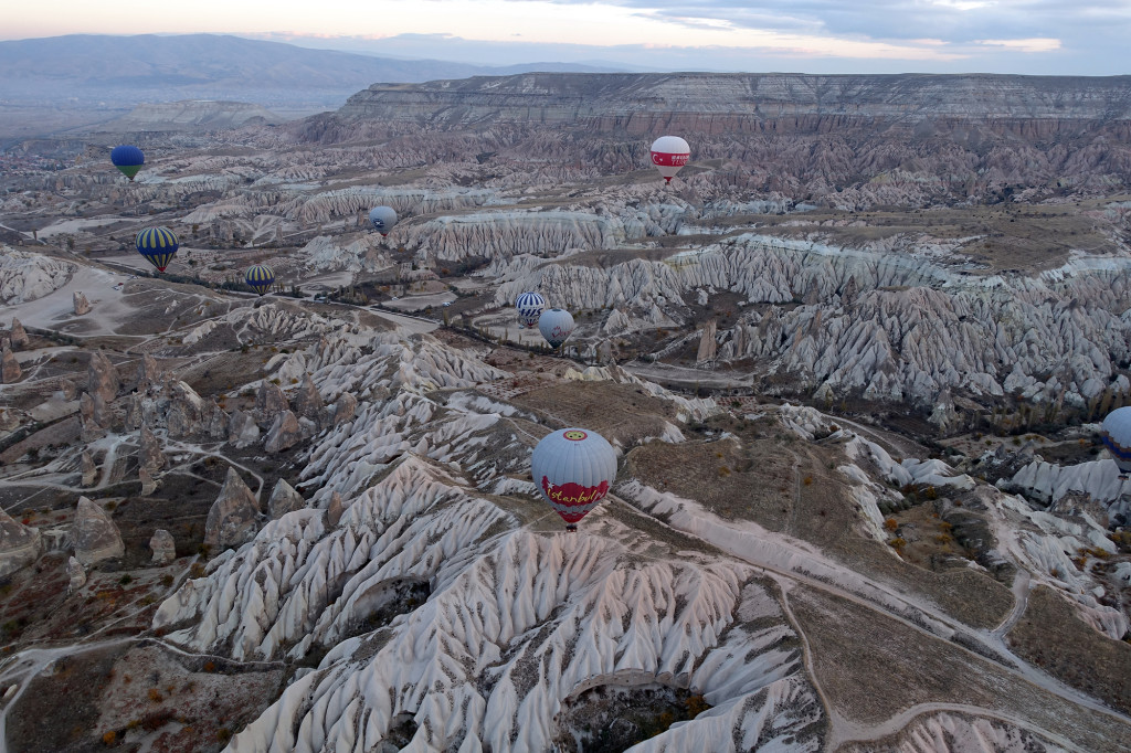 DSC06941 Türkei Nov. 15 - Kappadokien - Ballonfahrt