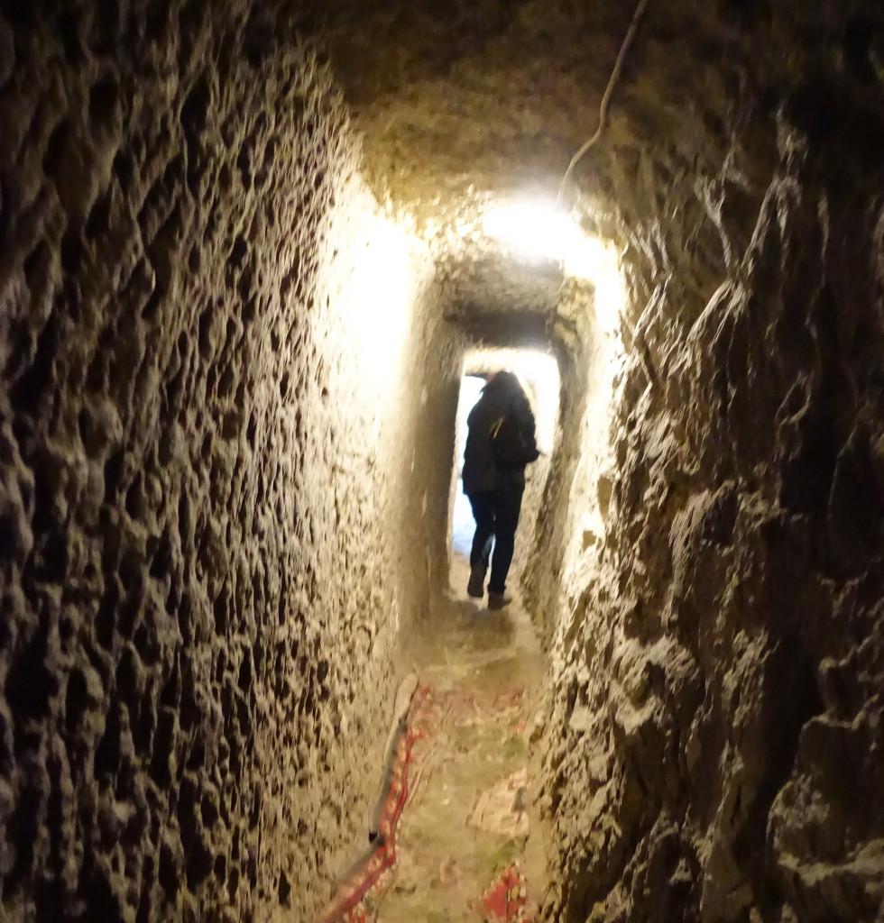 DSC07415 Türkei Nov. 15 - Kappadokien - Dorf mit unterirdischem Bereich