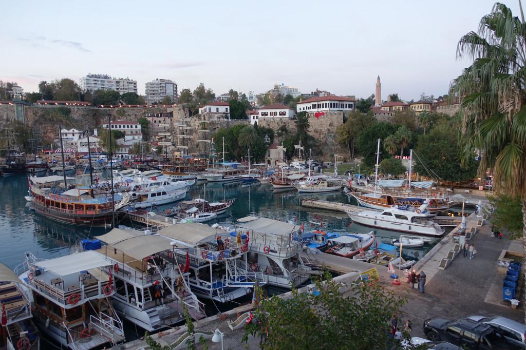 Antalya - Blick auf den Hafen