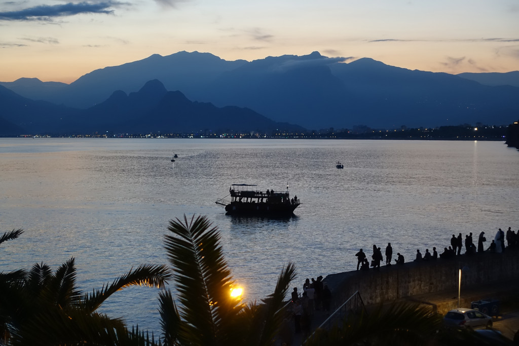 Antalya - Blick auf das Taurus-Gebirge
