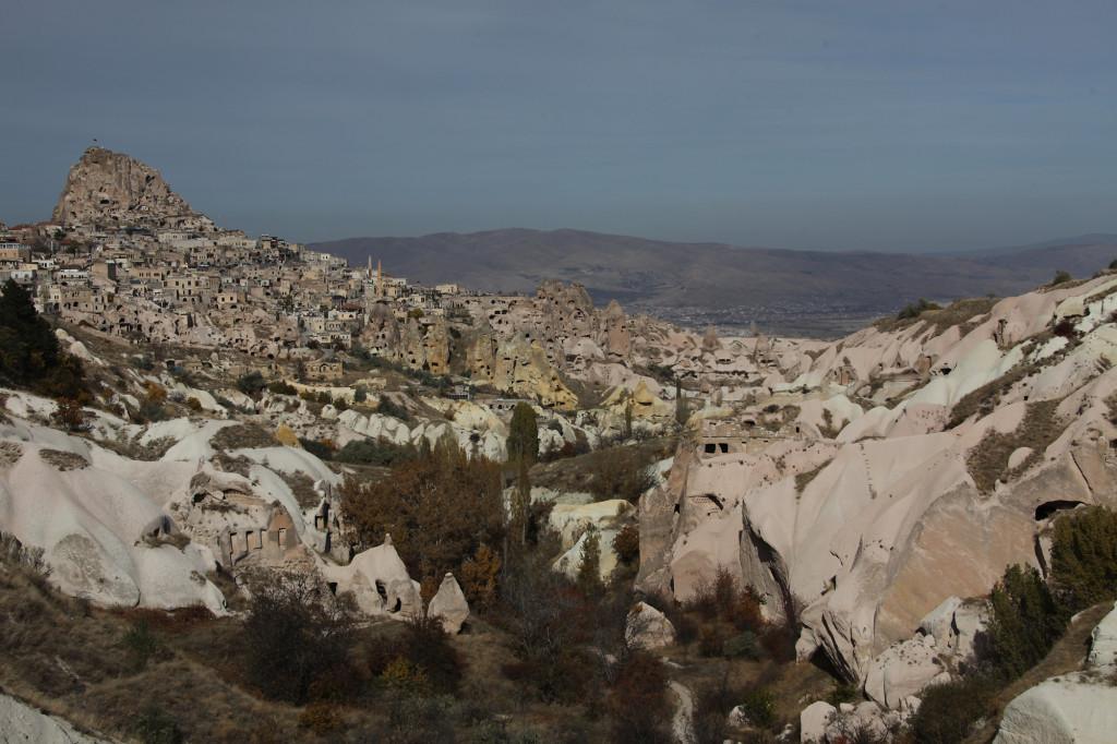 Taubental - Blick auf Uçhisar