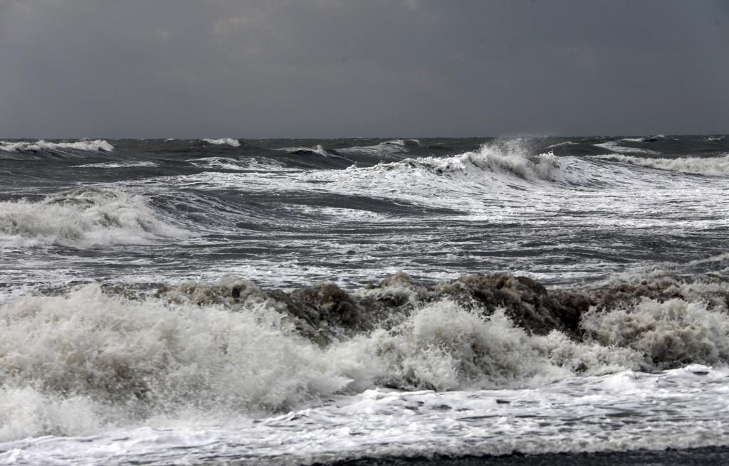 IMG_2210 Türkei Nov. 15 - Belek-Bogazkent - Hotel Belek Beach - Sturm