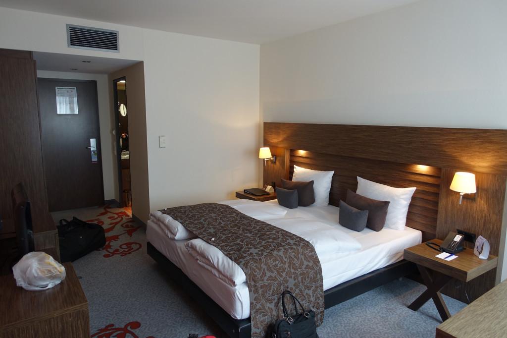 Hotel Park Plaza - unser Zimmer