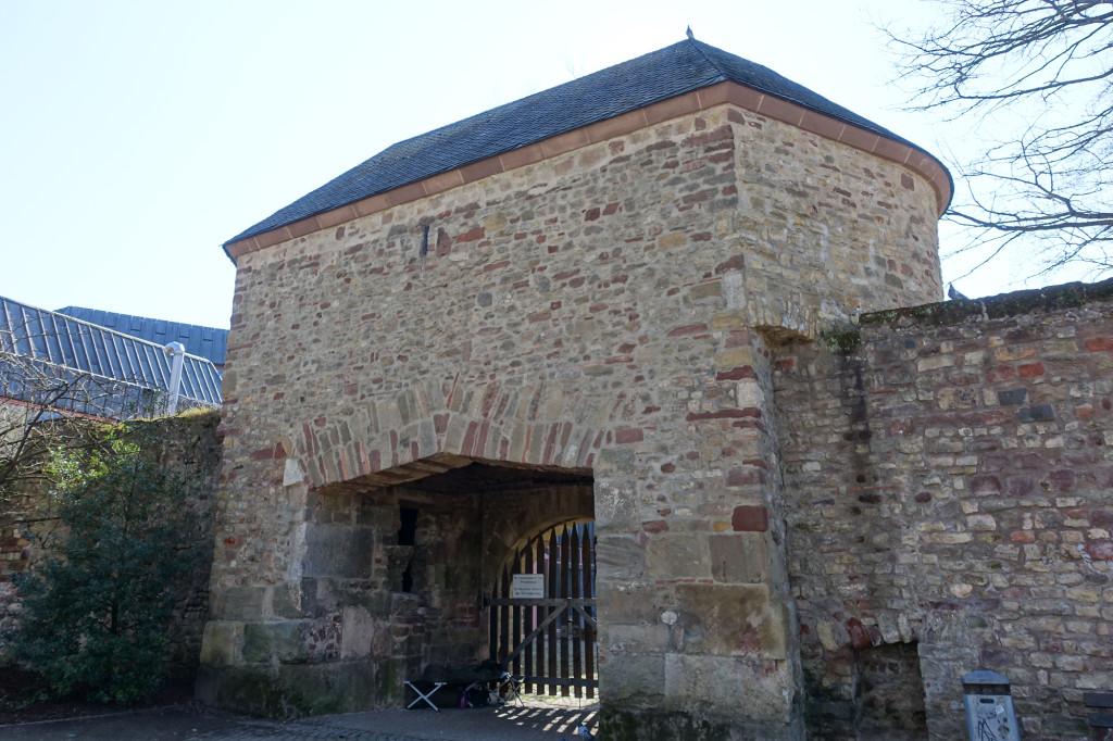 Tor der mittelalterlichen Stadtmauer