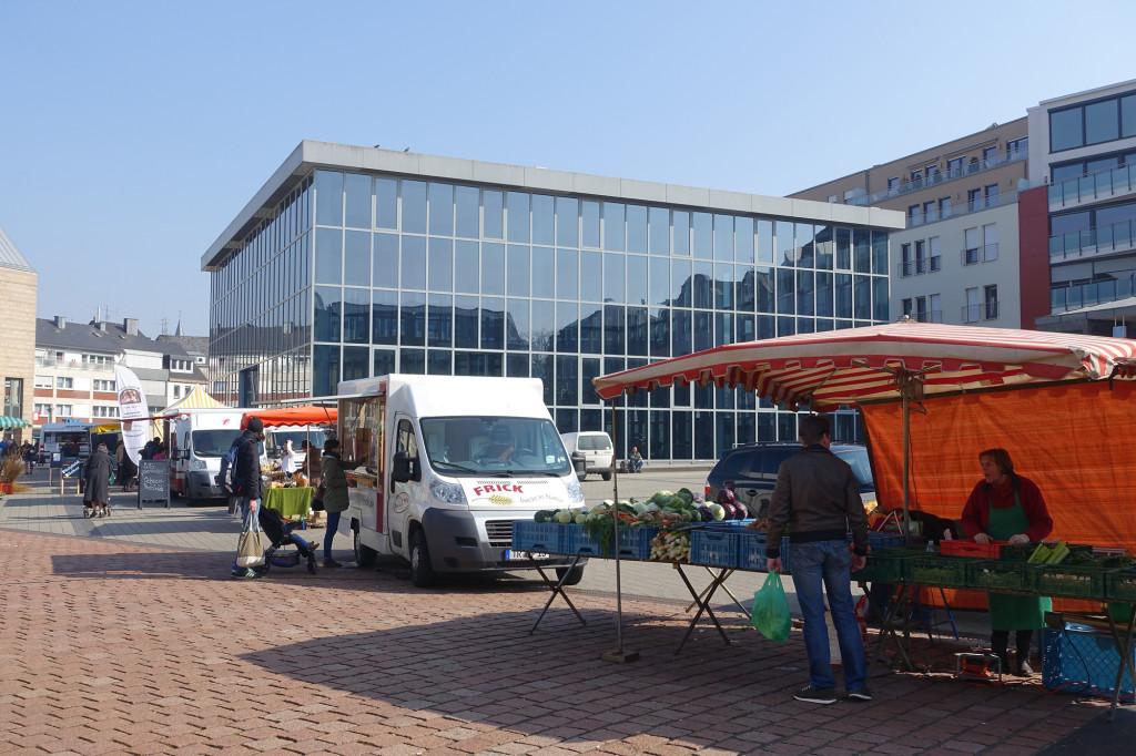 Viehmarktplatz mit dem Thermenmuseum