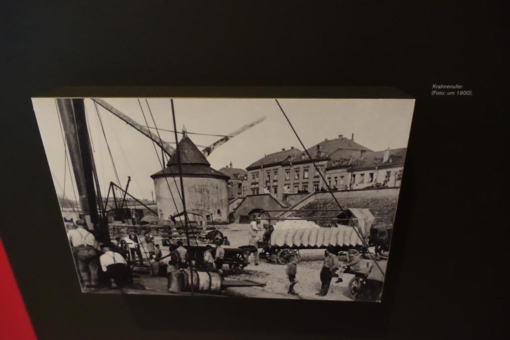 So sah es hier früher aus - Foto aus dem Rheinischen Landesmuseum