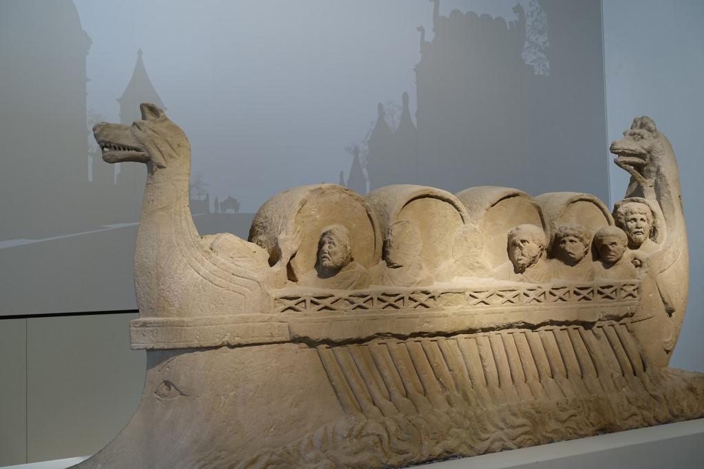 Rheinisches Landesmuseum Trier - Neumagener Weinschiff