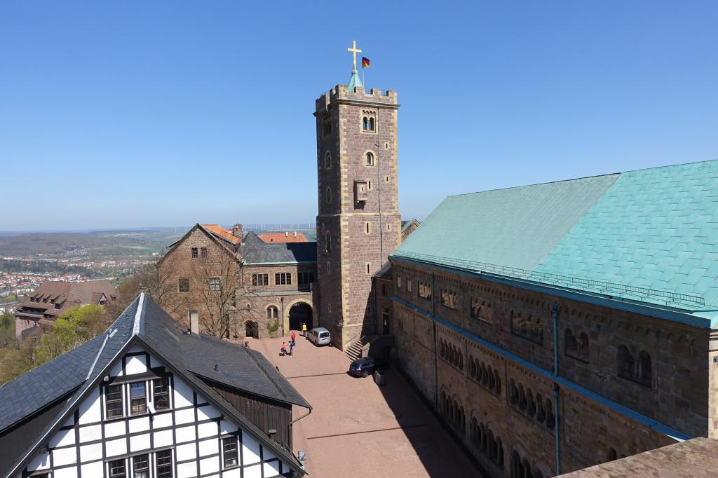 Wartburg - Blick vom Südturm