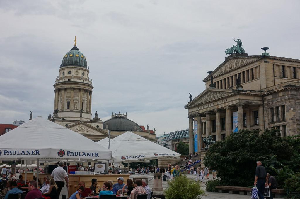 Gendarmenmarkt - Konzerthaus und Deutscher Dom