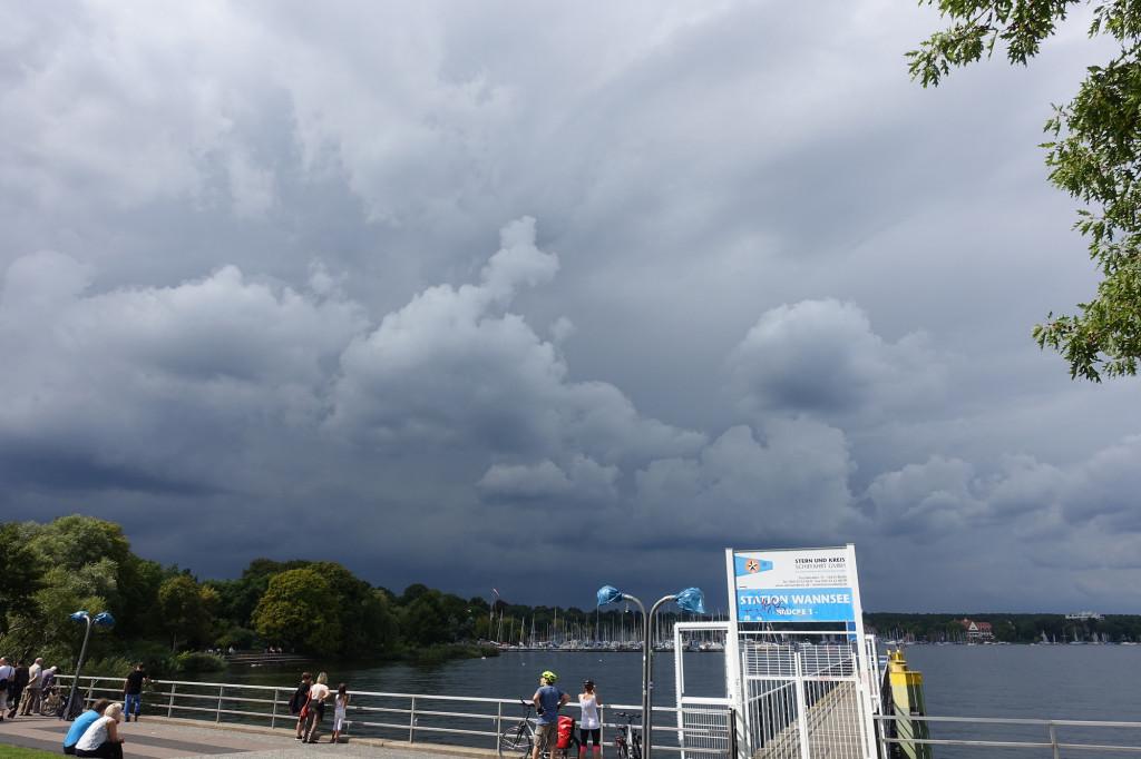 Am Wannsee - Vor dem Gewitter