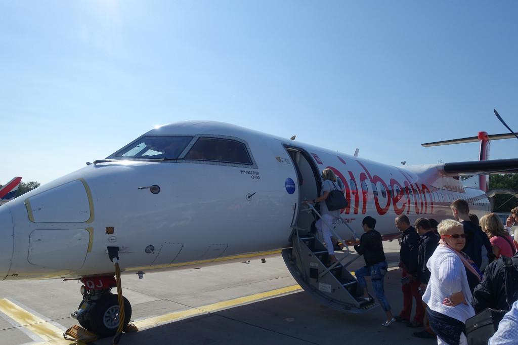 Bombardier Q400 der Air Berlin