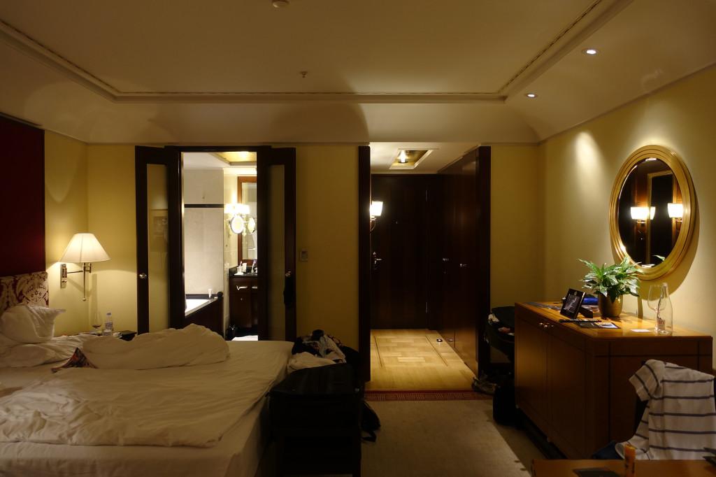 Hotel Adlon - unser Zimmer