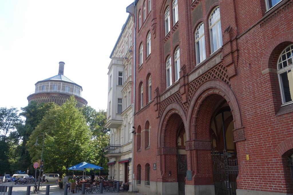 Prenzlauer Berg - Wasserturm und ehemalige Synagoge Rykestraße