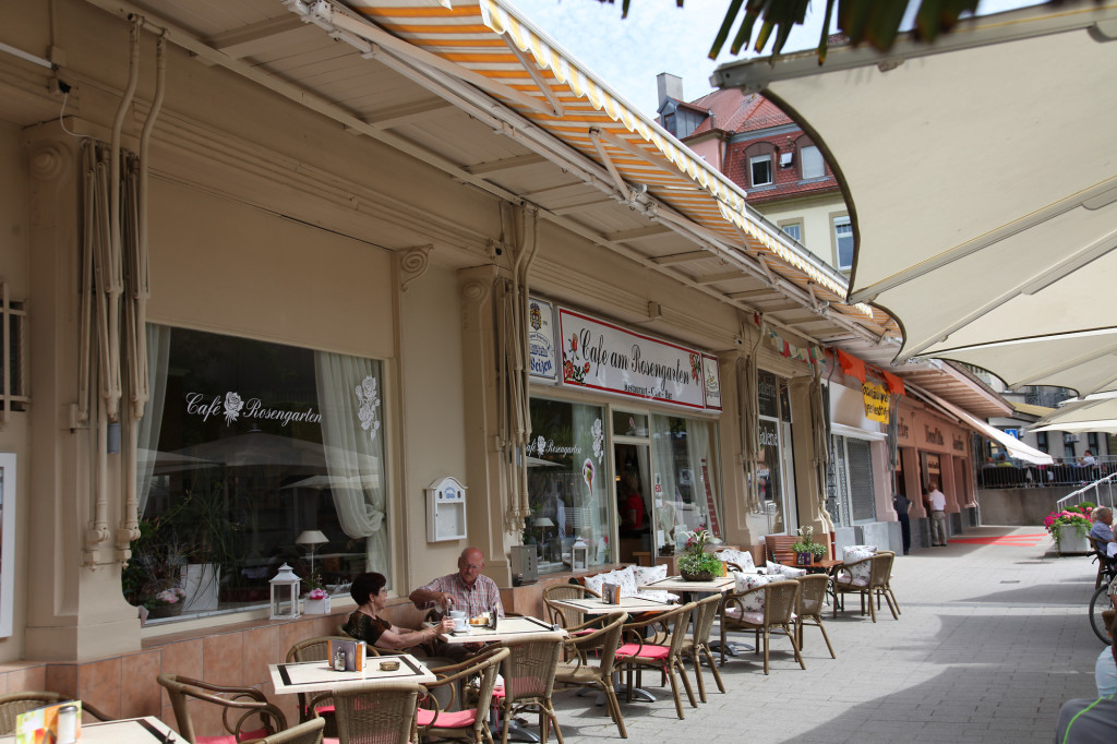 "Bad Kissingen - das ""Cafe am Rosengarten"""