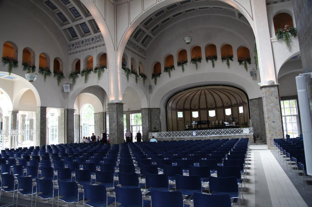 Bad Kissingen - Konzertsaal im Kurgebäude
