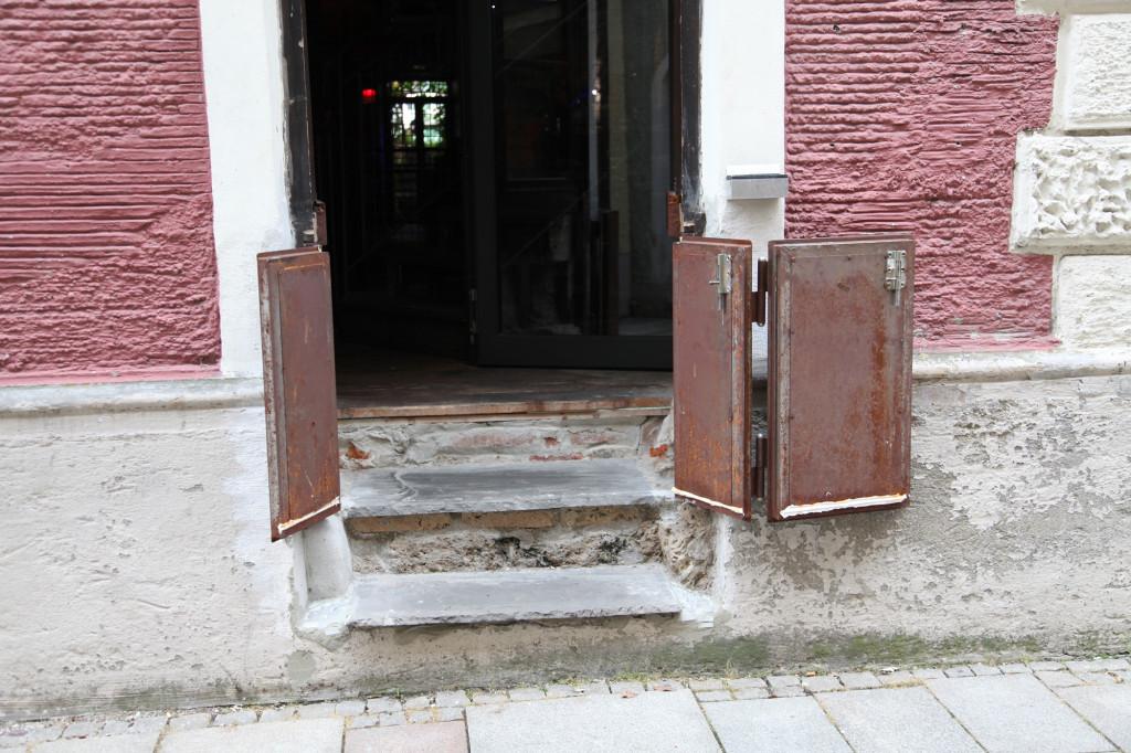 Altstadt Burghausen - bereit für die nächste Überflutung durch die Salzach