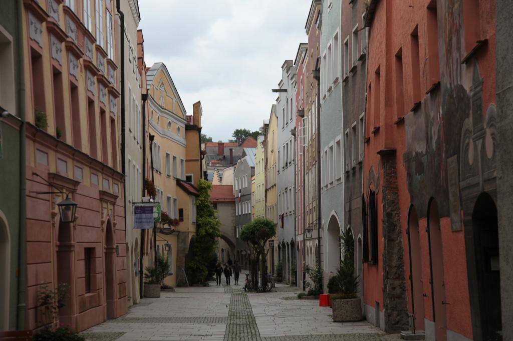 Altstadt Burghausen - In den Grüben, die Jazz-Straße