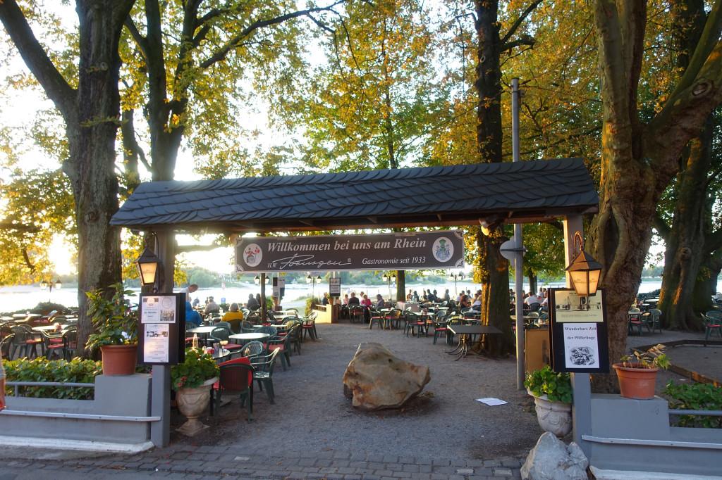 """Düsseldorf-Kaiserswerth - Restaurant """"Alte Rheinfähre"""""""