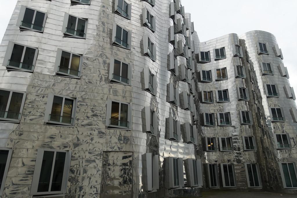 Düsseldorf - die Gehry-Bauten