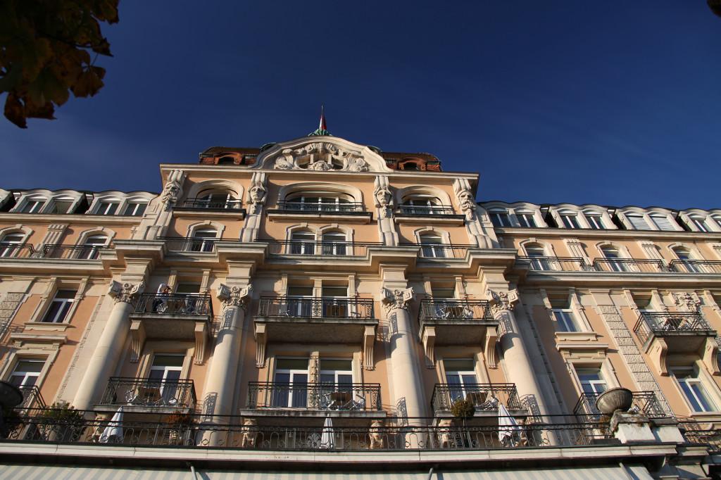 Eine gute Adresse am Seeufer - das Palace-Hotel