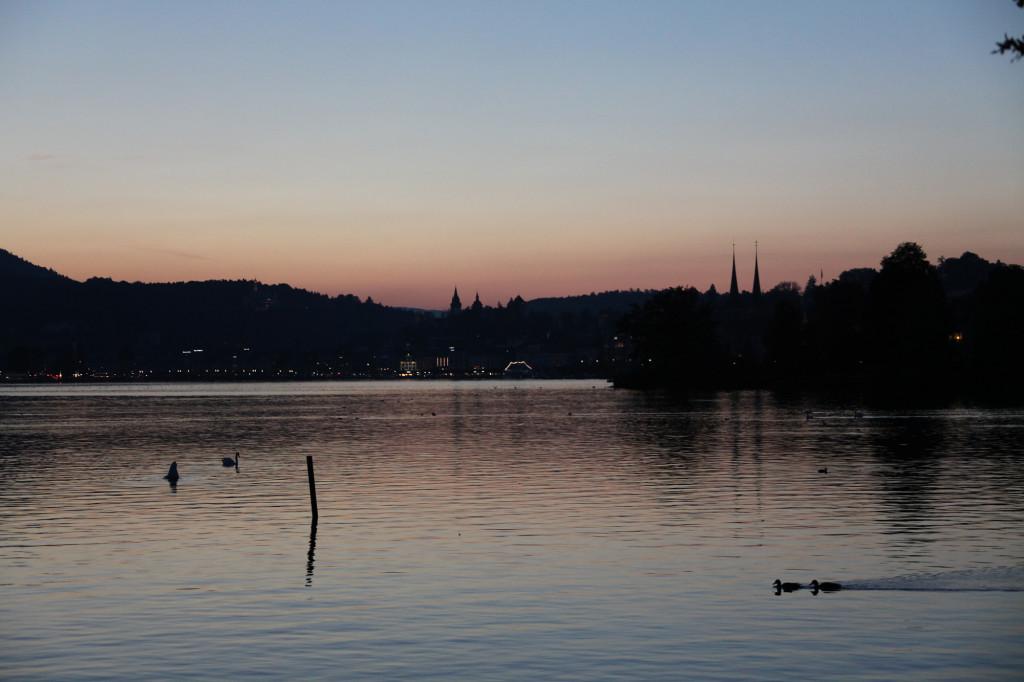 Die Sky-Line von Luzern