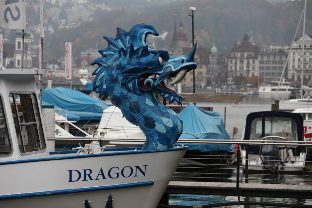 Ein Drachenboot :-)