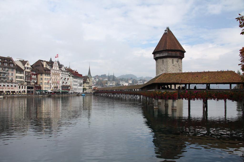 Luzern - Kapellbrücke und Wasserturm