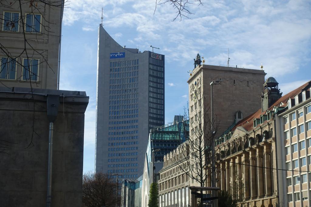 City-Hochaus und Krochhochhaus