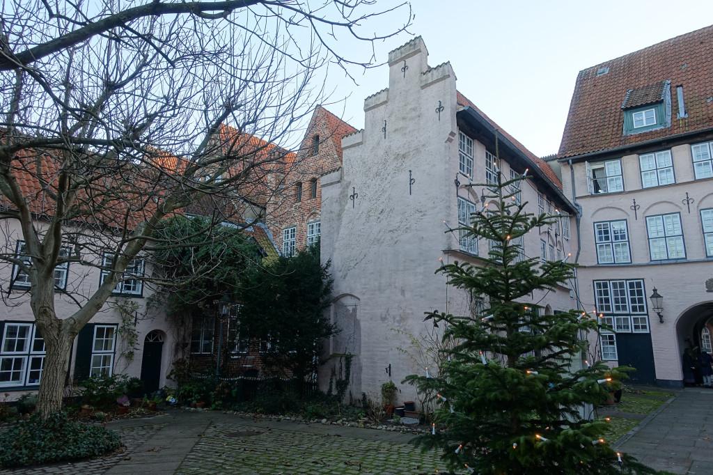 Einer der Höfe, für die Lübeck bekannt ist